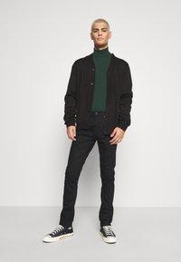 Zign - Stickad tröja - dark green - 1