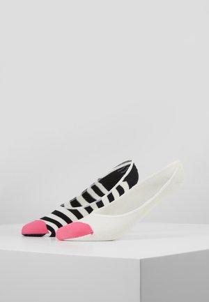 CLASSIC INVISIBLE SOCKS 2 PACK - Sportovní ponožky - multi