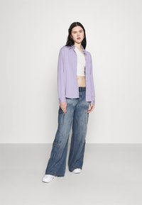 Jaded London - SKATER CARGO WITH BELT - Jeans relaxed fit - blue - 1