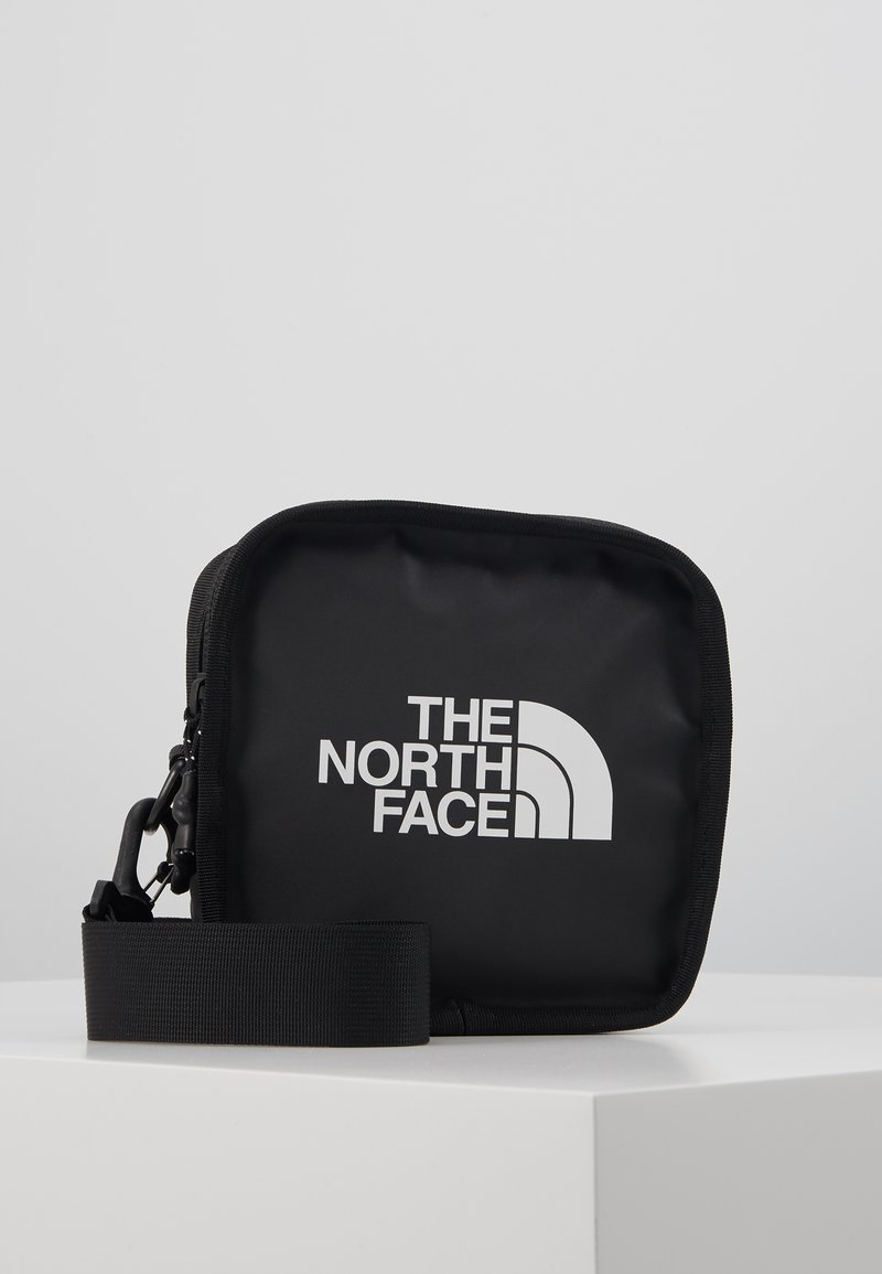 The North Face - EXPLORE BARDU UNISEX - Across body bag - black/white