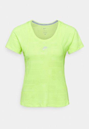 AIR - Print T-shirt - volt/reflective silver