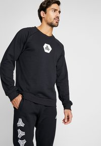 adidas Performance - TAN CREW - Sweatshirt - black - 0