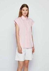 BOSS - BEMIRTA - Button-down blouse - pink - 0
