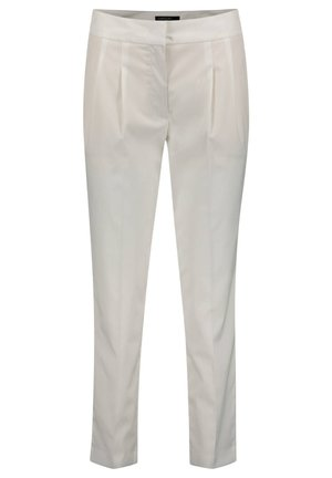 MARC CAIN DAMEN HOSE SLIM FIT - Trousers - weiss (10)