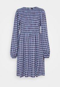 YASBLUMA SMOCK DRESS - Day dress - country blue