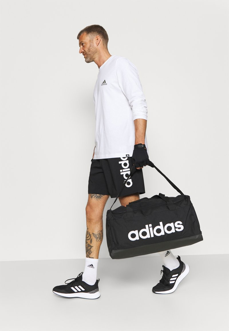 adidas Performance - LINEAR DUFFEL UNISEX - Torba sportowa - black/white