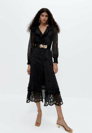 ORGANZA - Day dress - black