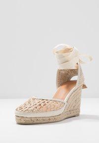 Castañer - CAROLA  - High heeled sandals - natural - 4