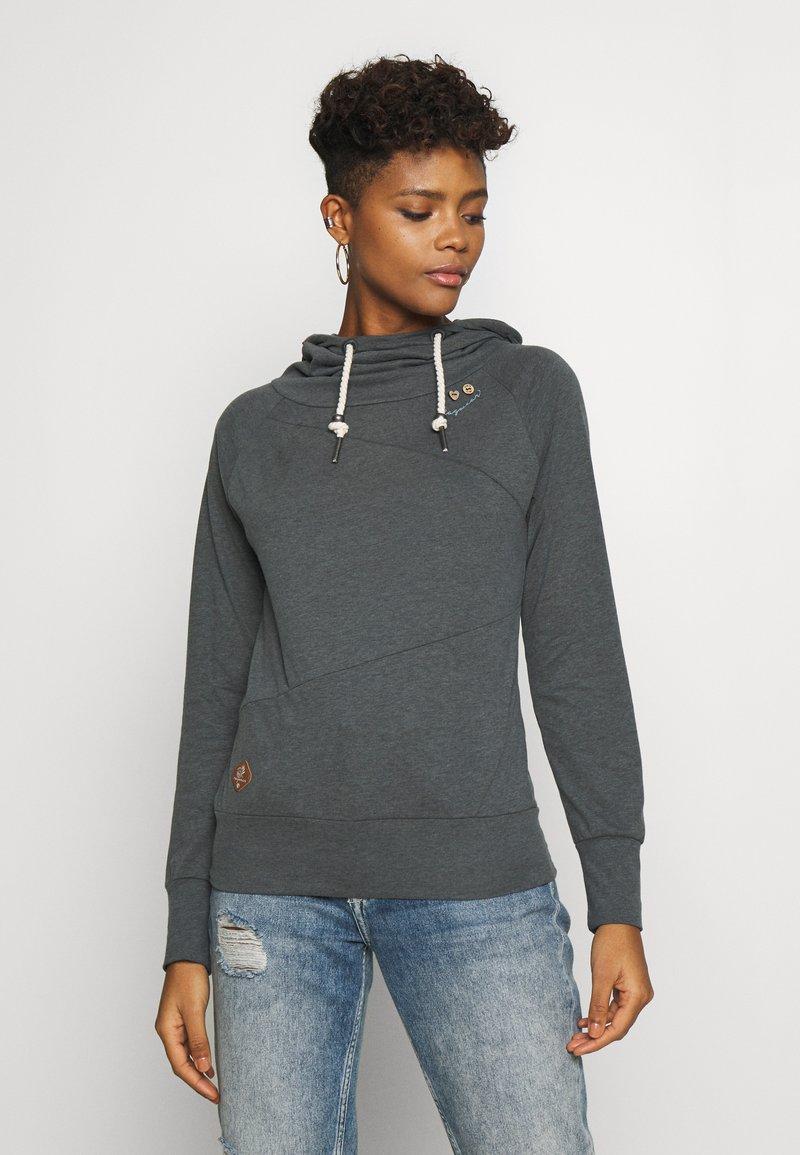 Ragwear - FUGE - Bluza z kapturem - grey