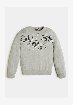 LOGO - Sweatshirt - hellgrau