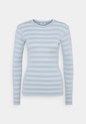 TONAL STRIPE TUBA - Long sleeved top - forever blue