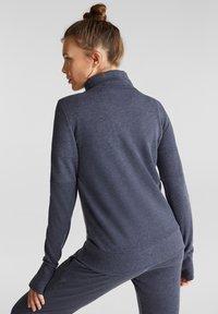 Esprit Sports - Zip-up hoodie - navy - 2