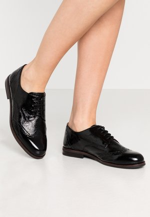 LACE-UP - Zapatos de vestir - black