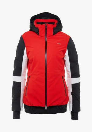 WOMEN FORMULA JACKET - Ski jas - fiery red/black