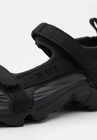 Teva - TANZA UNISEX - Chodecké sandály - black - 5