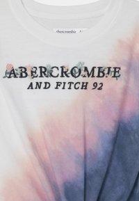 Abercrombie & Fitch - KNOT FRONT TECH CORE  - Print T-shirt - purple - 2