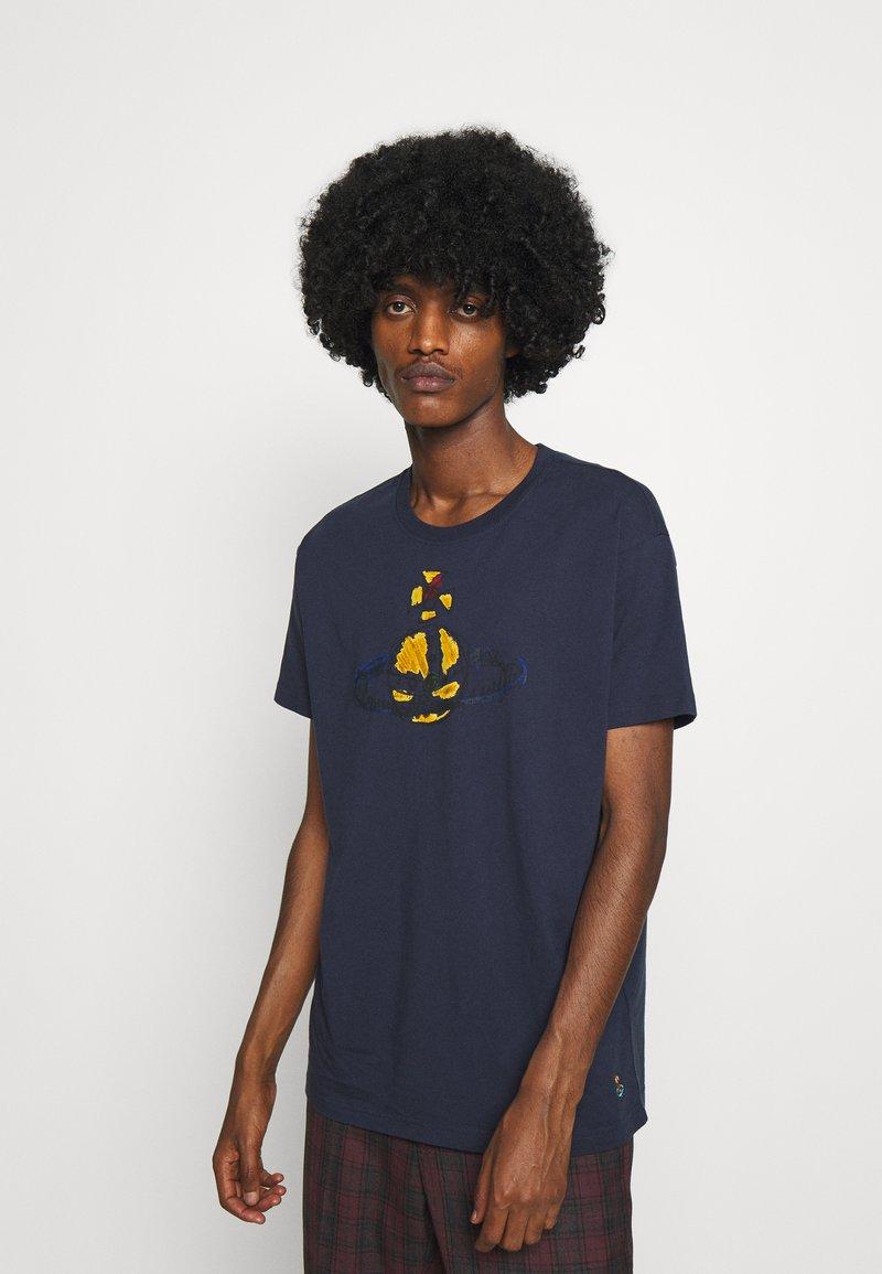 Vivienne Westwood - KID CLASSIC UNISEX - Print T-shirt - navy