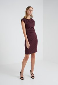 Tiger of Sweden - Shift dress - dark red - 1