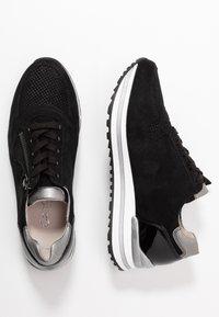 Gabor Comfort - Sneakers laag - schwarz/grey - 5