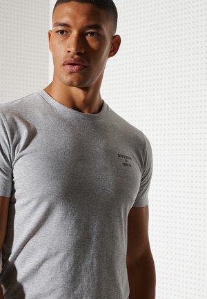 Camiseta básica - grey marl