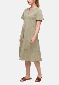 s.Oliver - Day dress - summer khaki - 3