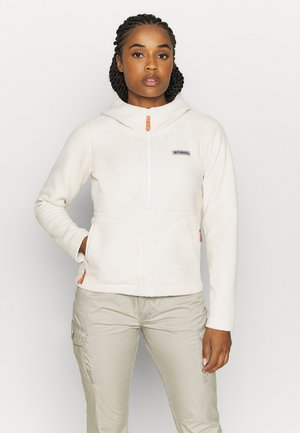 NORTHERN REACH SHERPA ANORAK - Fleecetrøjer - chalk