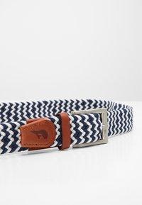 Slopes&Town - Braided belt - blue/white - 3