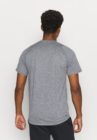adidas Performance - FREELIFT AEROREADY TRAINING SHORT SLEEVE TEE - T-shirts basic - grey four/white - 2