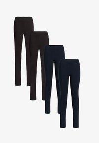 WE Fashion - 4-PACK - Leggings - multi-coloured - 0