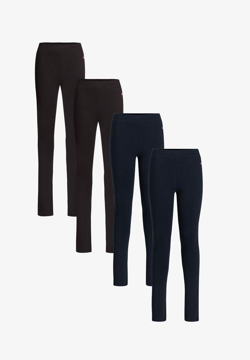 WE Fashion - 4-PACK - Leggings - multi-coloured