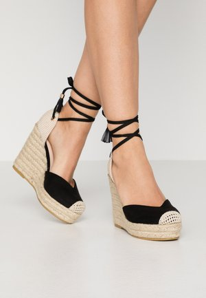 DORIAN - High heeled sandals - black