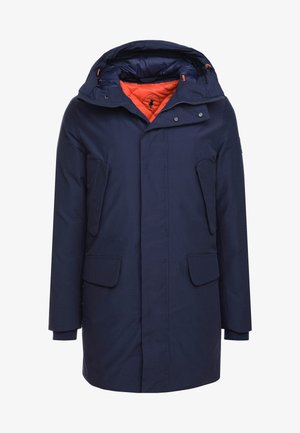 COPY - Wintermantel - navy blue