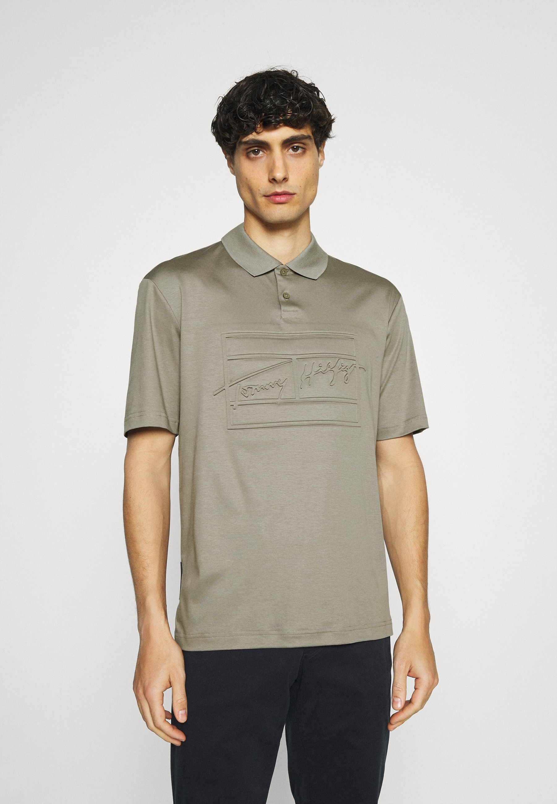 Men SIGNATURE FLAG EMBOSSED  - Polo shirt