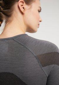 PYUA - Long sleeved top - grey melange - 4