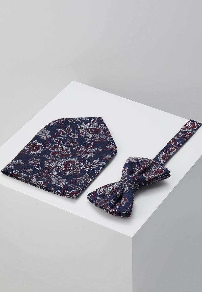 Burton Menswear London - SUNFLOWER SET - Kapesník do obleku - navy