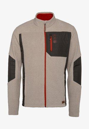 Fleece jacket - taupe