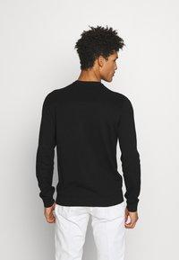 Emporio Armani - MAGLIERIA - Sweter - black - 2
