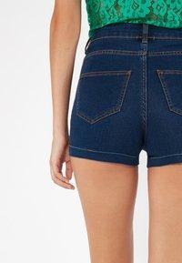 Tezenis - Denim shorts - dark blue jeans - 3