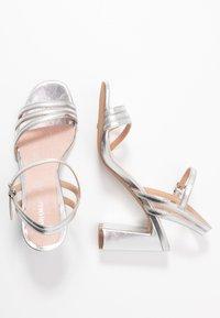 Mariamare - Højhælede sandaletter / Højhælede sandaler - silver - 3
