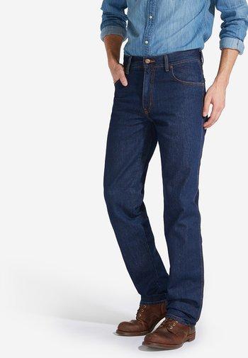 TEXAS - Straight leg jeans - blue denim