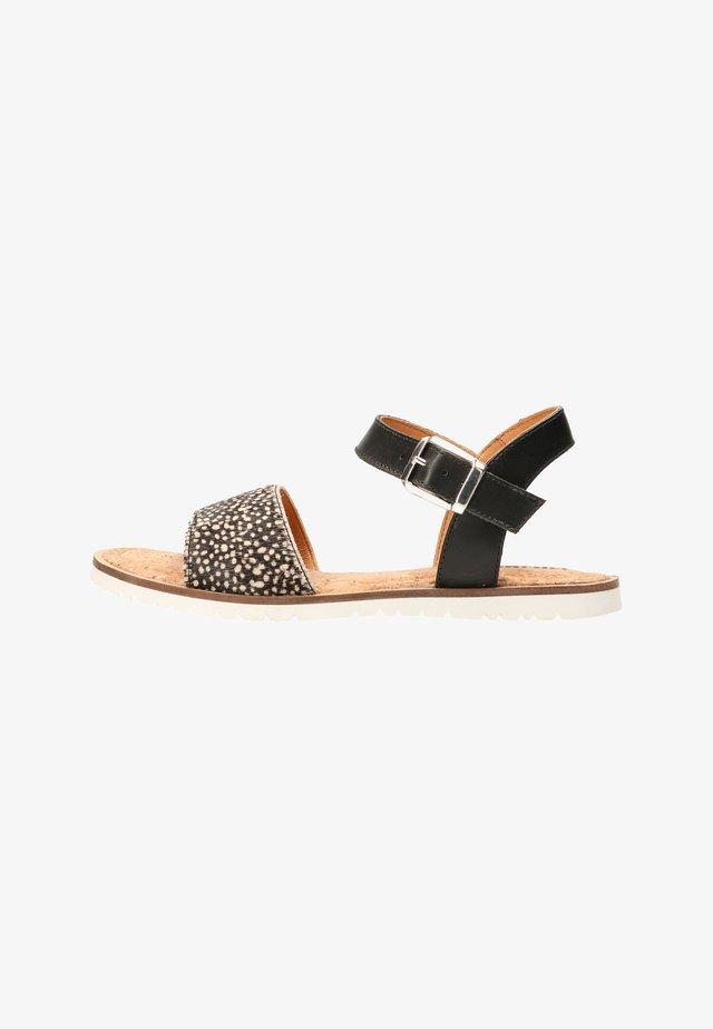 ABEL - Sandals - black / pixel black