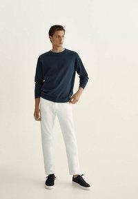 Massimo Dutti - Straight leg jeans - grey - 1