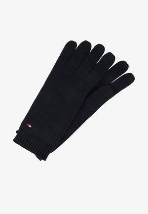 FLAG KNIT GLOVES - Gloves - black