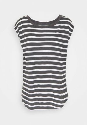 LUXE - Print T-shirt - black white
