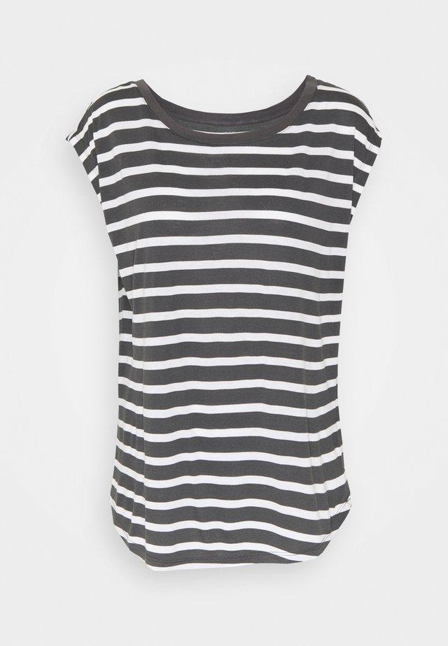 LUXE - Printtipaita - black white