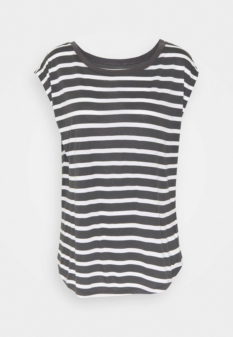 GAP - LUXE - Print T-shirt - black white