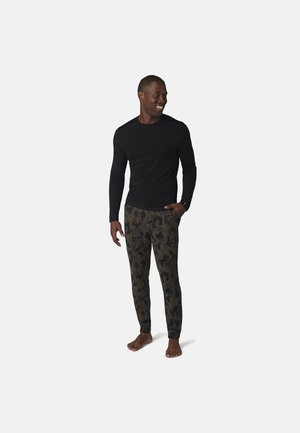 MIDWEIGHT 250 JOGGER PATTERN - Trainingsbroek - military olive camo