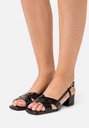 DAFIFI - Sandalen - noir