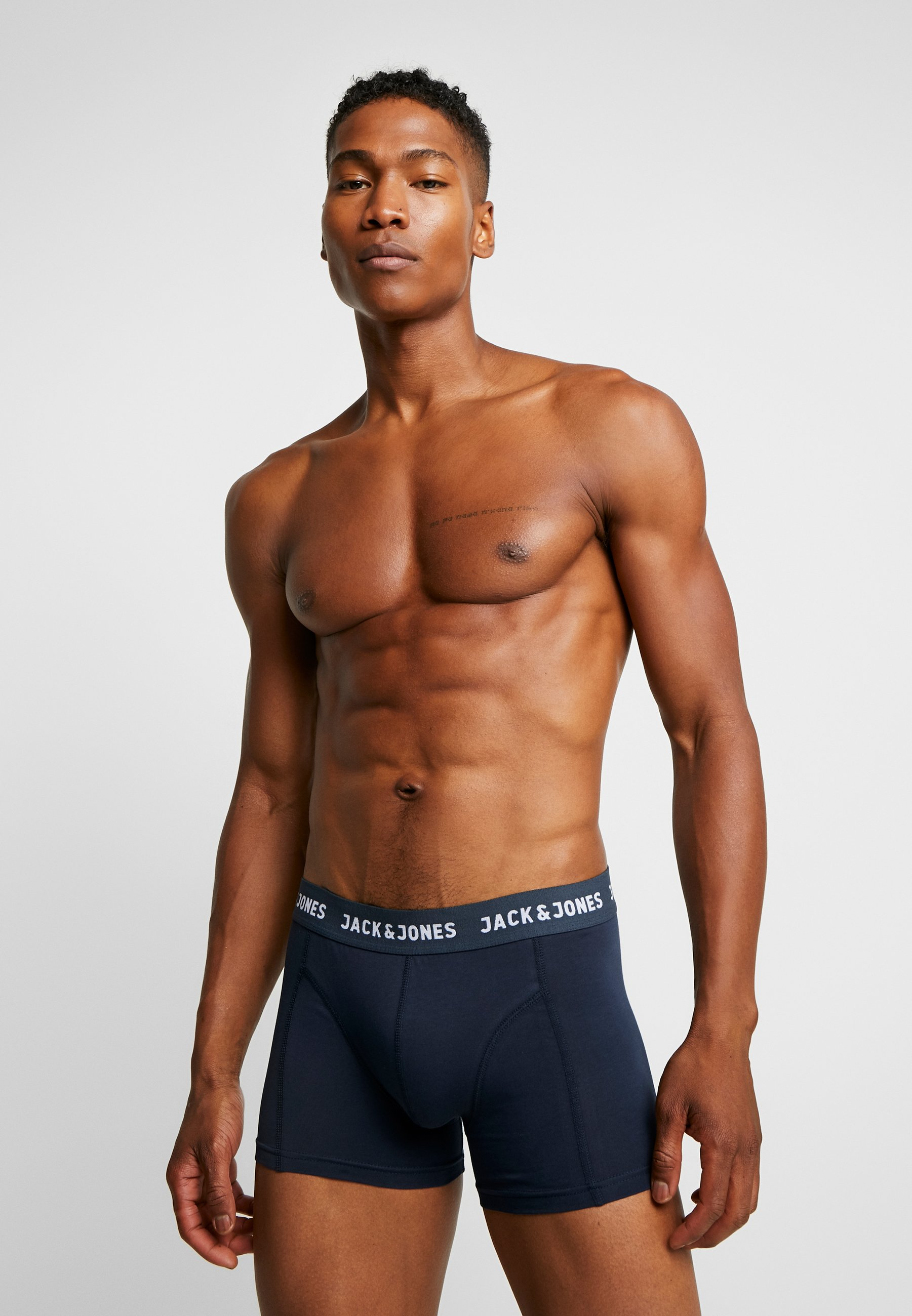 Jack & Jones Jacanthony Trunks 3pack - Culotte Blue Nights