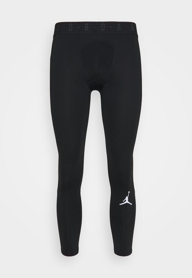 AIR 3/4 TIGHT - Pitkät alushousut - black/white